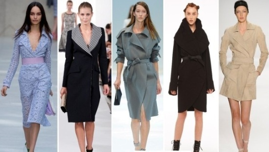 модное пальто 2014-2015