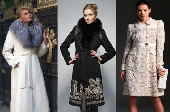 пальто в этническом стиле
