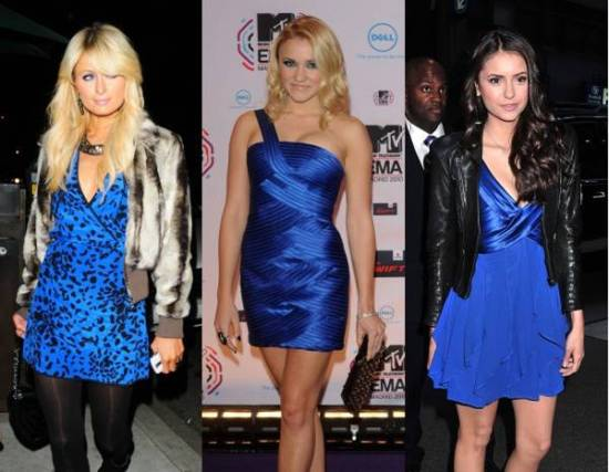 синее платье2