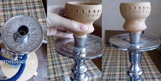 соединение чаши и шахты