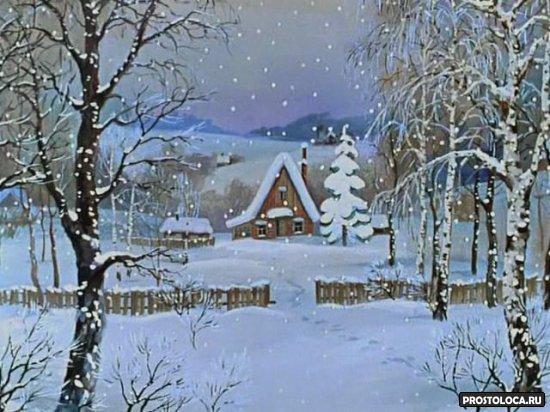 новогодние советские мультфильмы