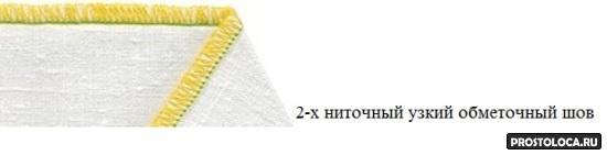 2-хниточный узкий обметочный