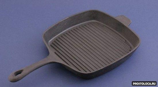 сковородка гриль