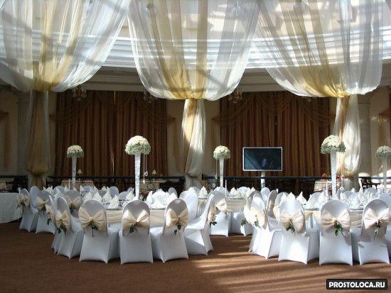красивое оформлние свадьбы