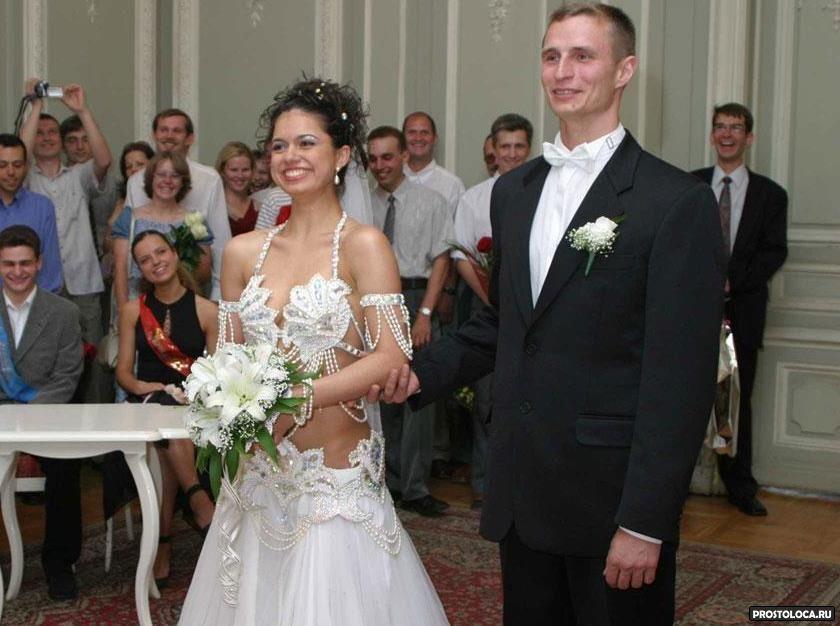Неудачные свадебные прически