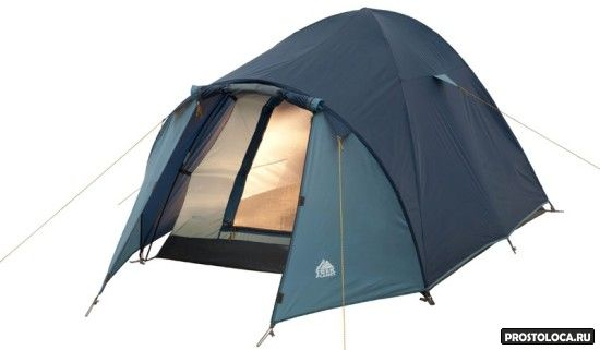 двухслойна палатка