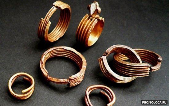 древние обручальные кольца