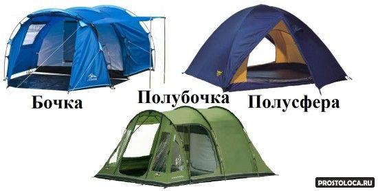 как правильно выбрать палатку