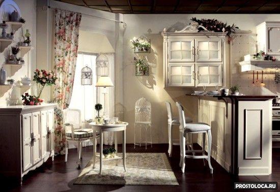 кухня в стиле прованс 4