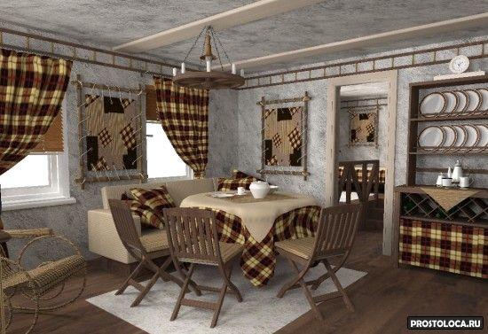 мебель кухни в стиле кантри