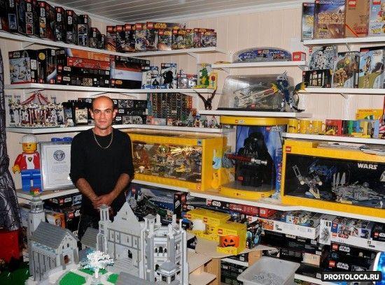 самая большая в мире коллекция лего