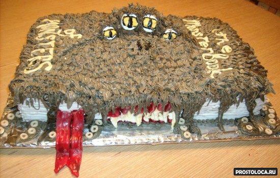 свадебный торт в стиле гарри поттера