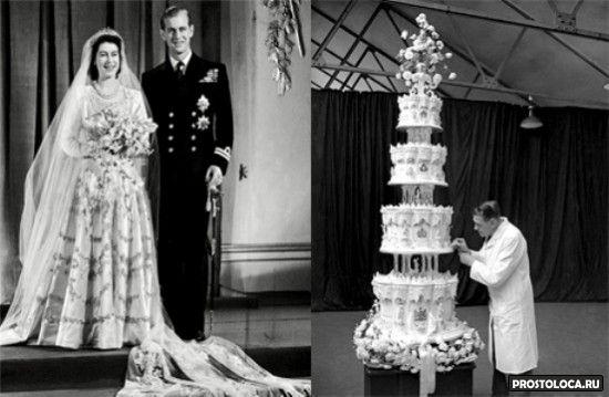 свадебный торт елизаветы второй