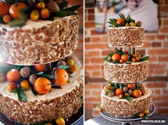 свадебный торт с ягодами 3