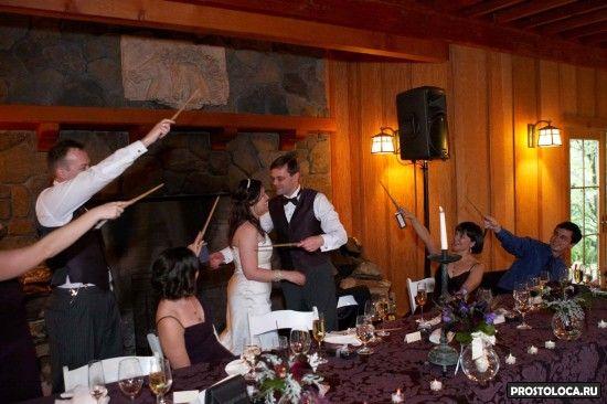 свадьба в стиле гарри поттера 11