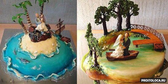 смешные свадебные торты 2