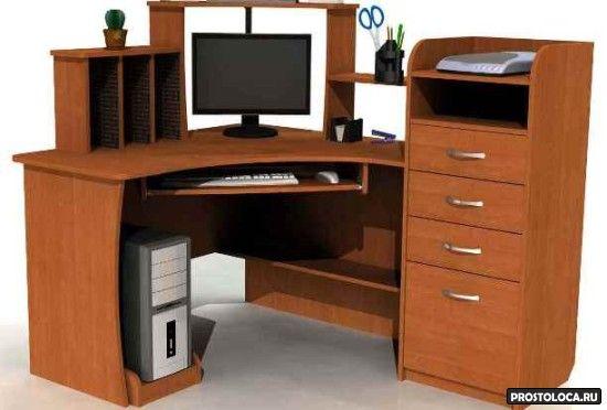 угловой комьютерный стол