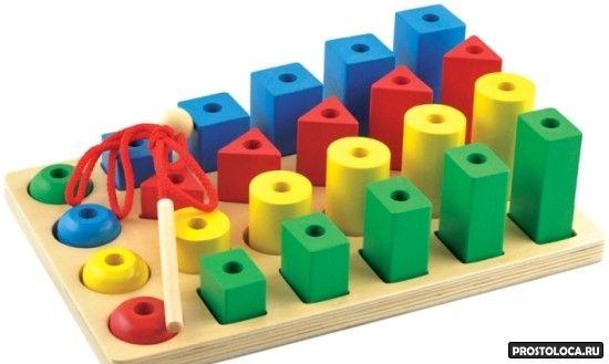 игрушки разной формы