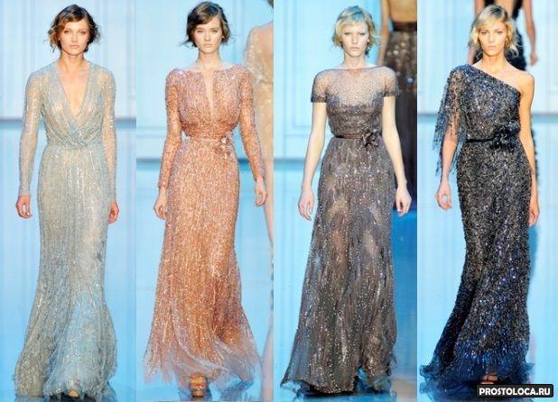61dae2a8844 красивые шифоновые платья 2015 ...