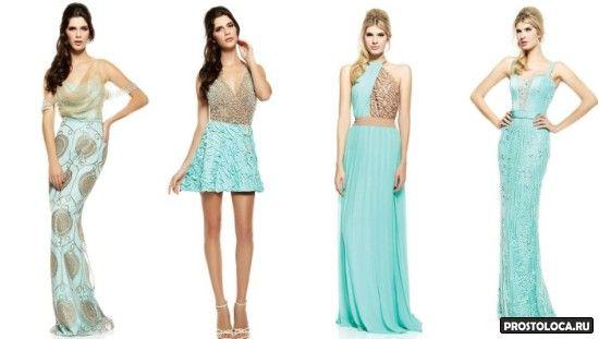 шифоновые платья красивые