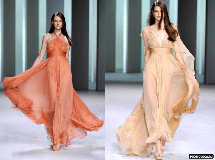 шифоновые платья 2016