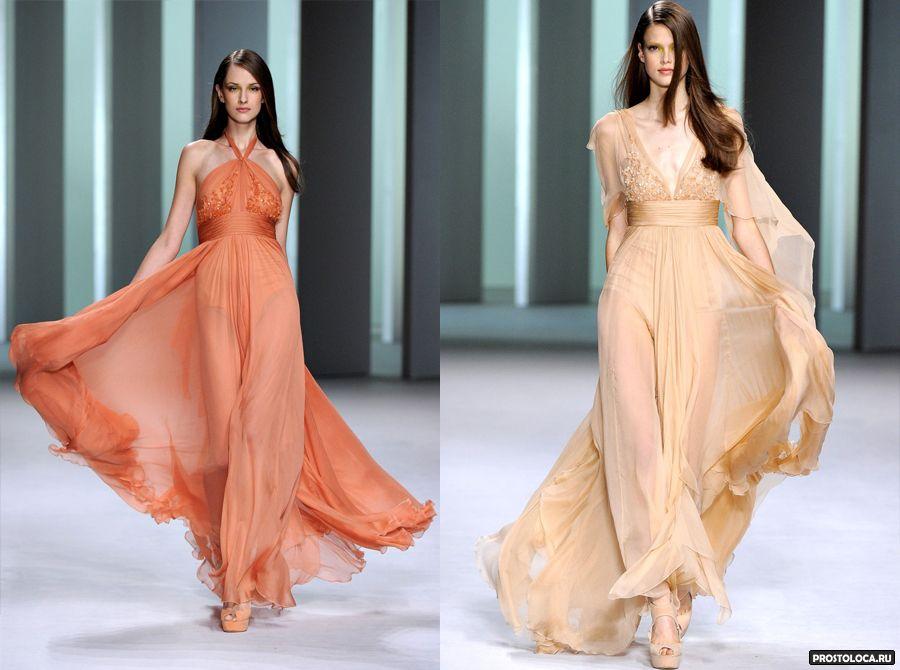 шифоновые платья 2016 фото