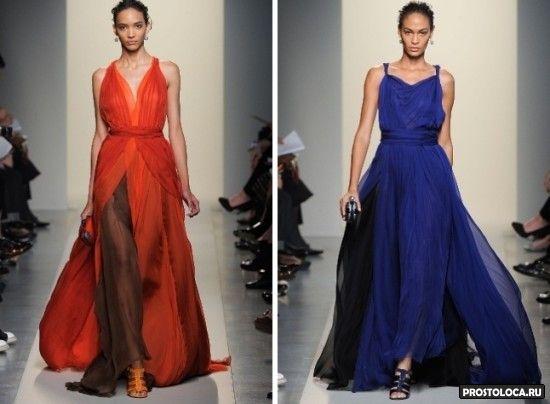 шифоновые платья 5