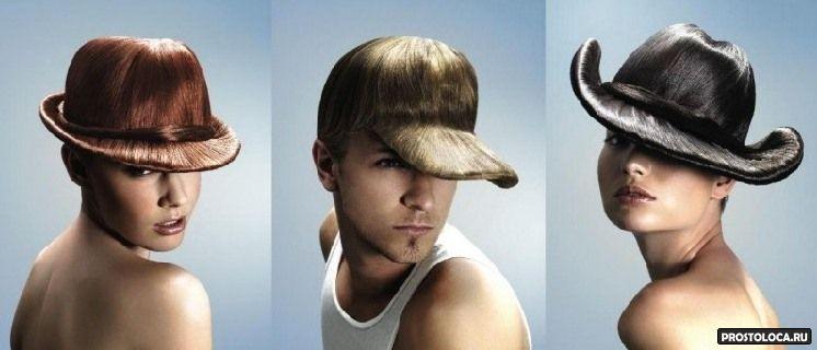 Шляпка из волос