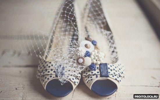 свадебные винтажные туфли