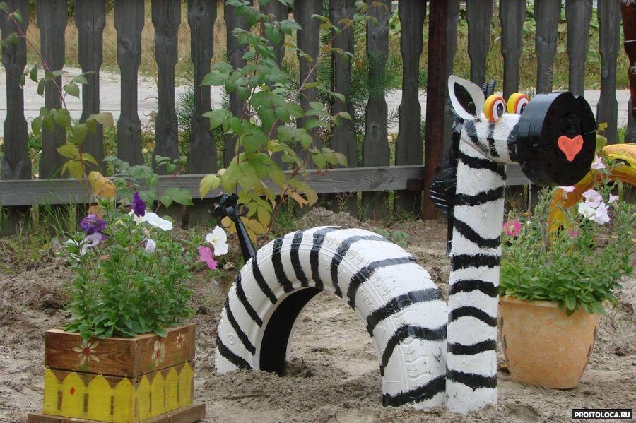 поделки своими руками для дачи сада фото
