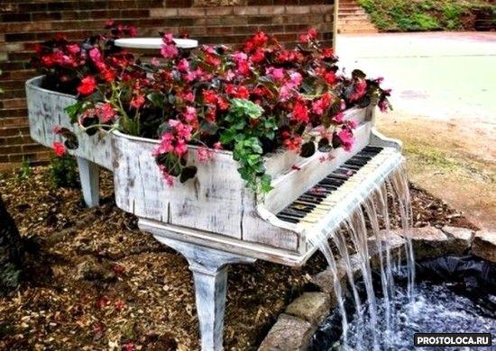 чем украсить садовый участок