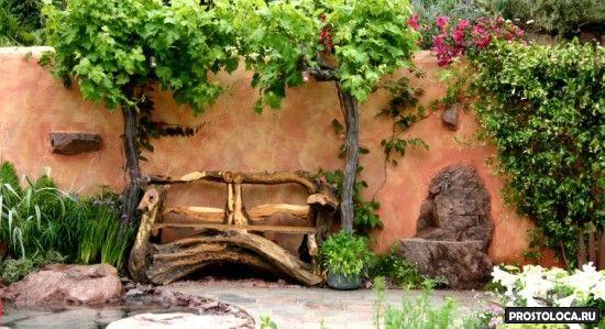 чем украсить сад