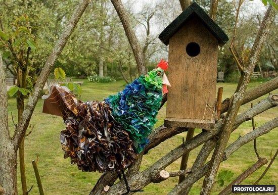 идеи для украшения садового участка
