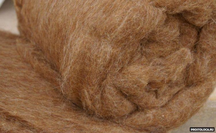 верблюжье или овечье одеяло