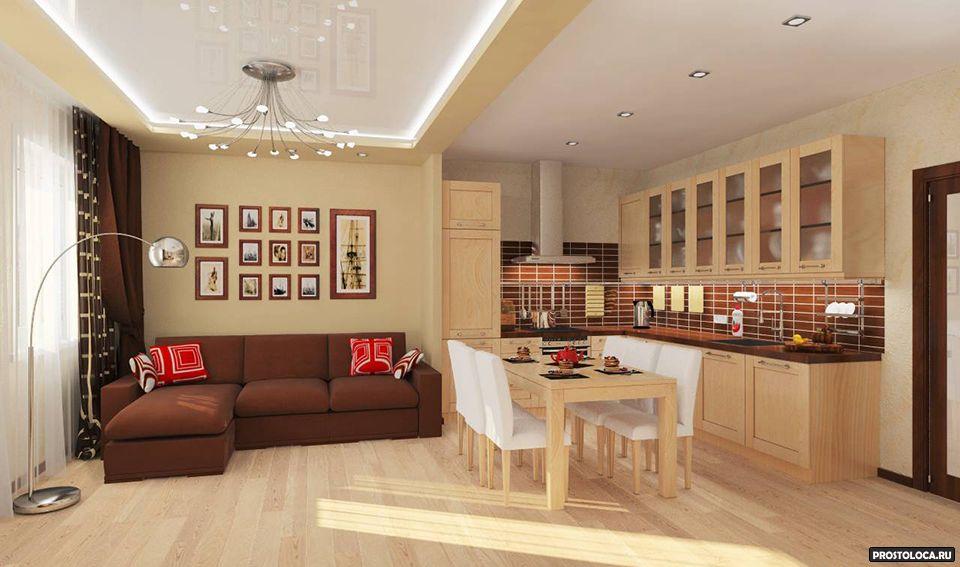 Дизайн однокомнатная квартира студия
