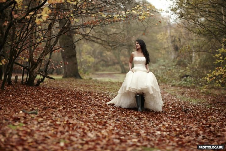 Фото свадеб в ноябре 14
