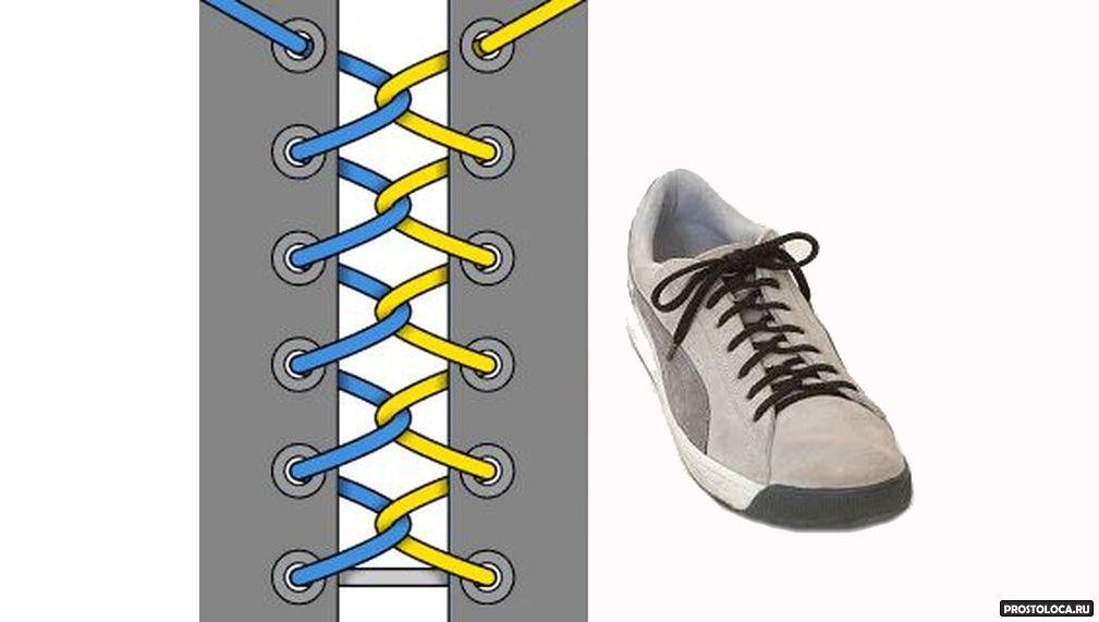 Красиво завязать шнурки в картинках счастье как-то