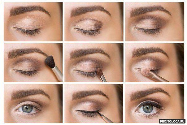 сватебный макияж глаз фото