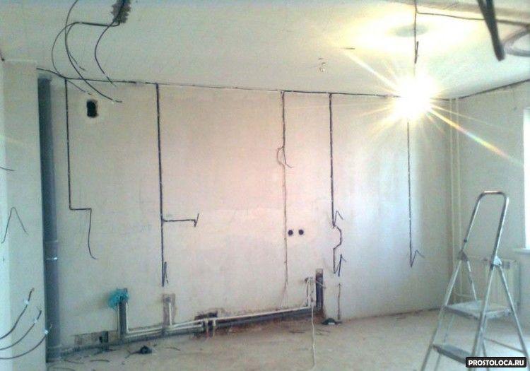 электротехнические работы в квартире