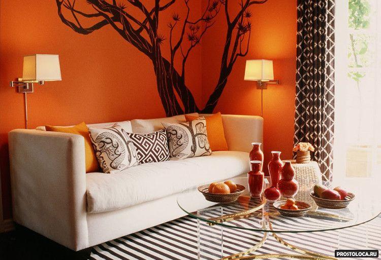 цвет гостиной 7