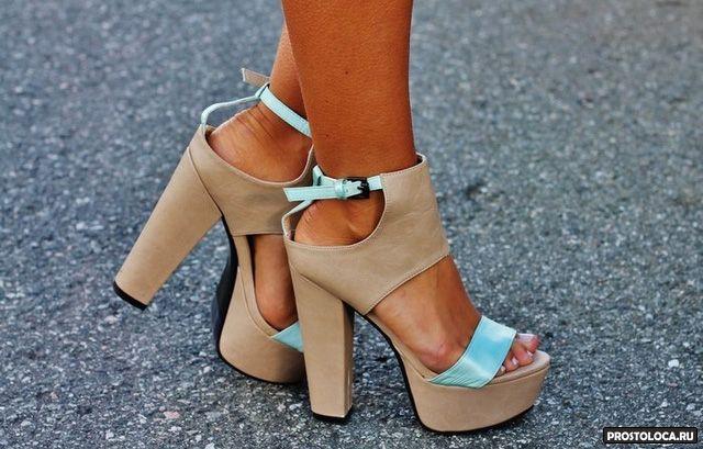 каблук столбик
