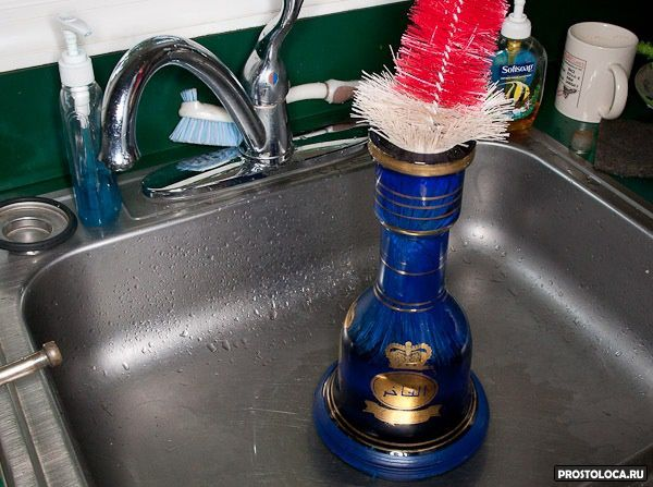 как мыть кальян