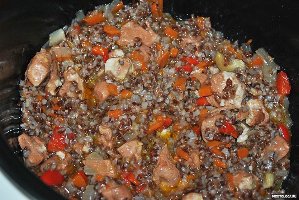 рубиновый рис рецепт