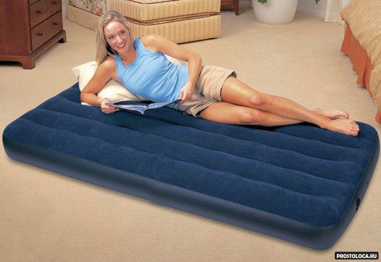 раскладушка или надувная кровать 3
