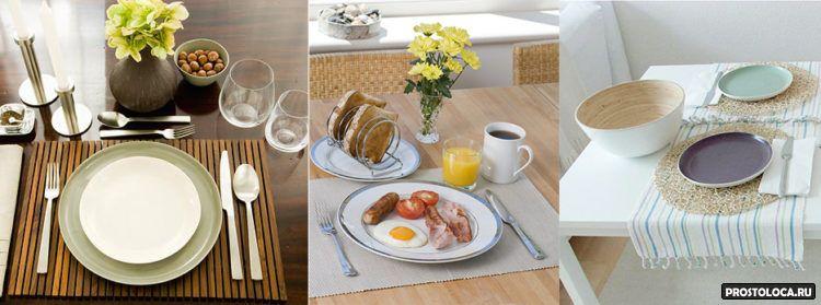 домашняя сервировка стола 7