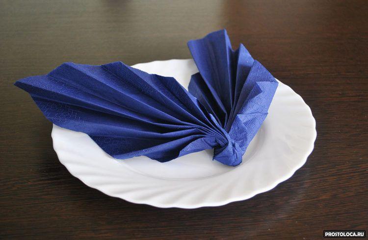 как свернуть бумажные салфетки 3
