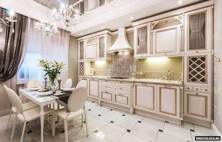 кухня в классическом стиле 11
