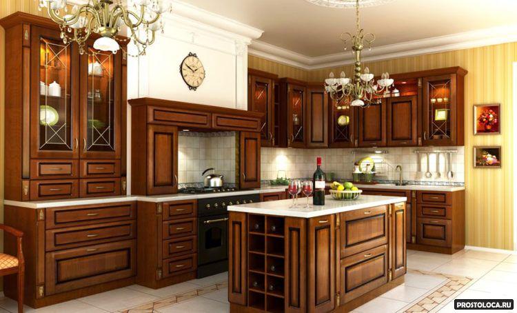 кухня в классическом стиле 16