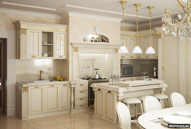 кухня в классическом стиле 6