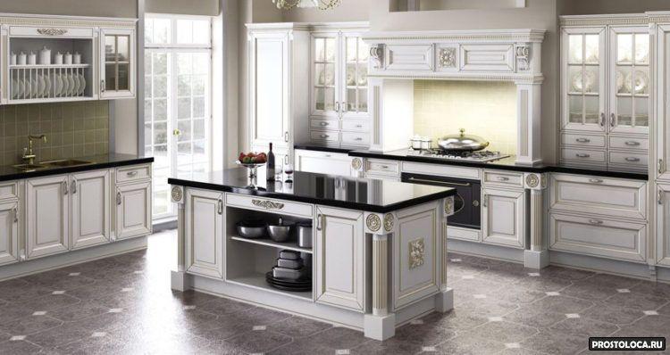 кухня в классическом стиле5